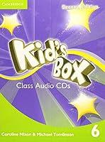 Kid's Box Level 6 Class Audio CDs (4) (Kids Box)