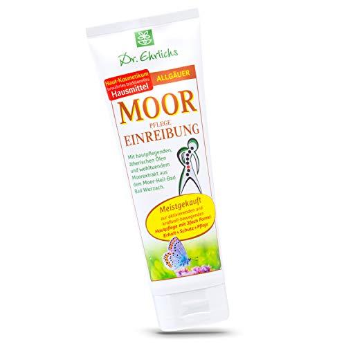 Dr. Ehrlichs Moor Pflege Einreibung 75ml Moorsalbe - die Allgäuer Mooreinreibung das Original