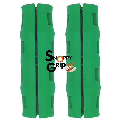 Snappy Grip Green Ergonomic Replacement Bucket Handles 2 Pack