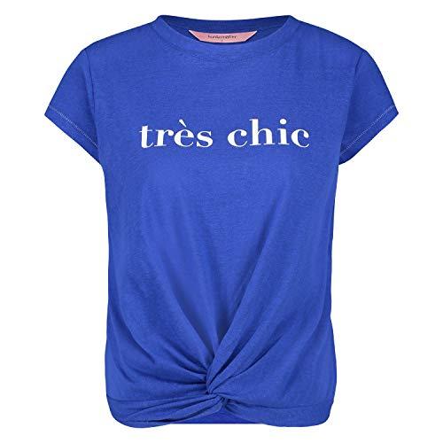 HUNKEMÖLLER Kurzärmeliges Pyjama-Top aus Jersey Blau S