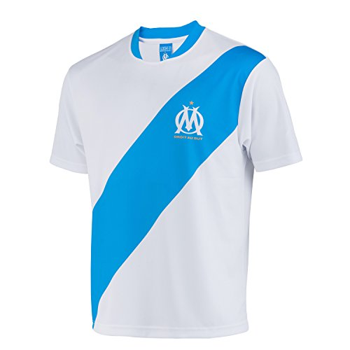 Olympique de Marseille Trikot Olympique de Marseille – Offizielle Kollektion Herrengröße S weiß