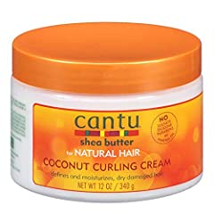 CANTU COCONUT CURLING CREAM moisturizes and strengthens strands with pure Shea butter to define curls without weighing them down. AWARD WINNING FORMULA: Rated Naturally Curly Best of the Best in 2013. PROVIDES WEIGHTLESS MOISTURE: Defines, conditions...