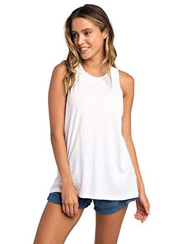 RIP CURL Havana Club Tank T-Shirt Manches Courtes Femme, Blanc, FR : M (Taille Fabricant : M)