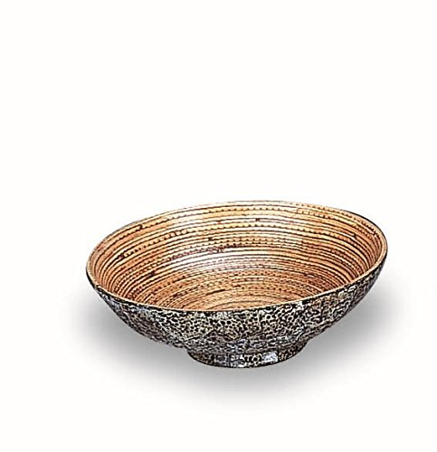 Organize It All Egg Shell Bamboo Round Bowl, Medium