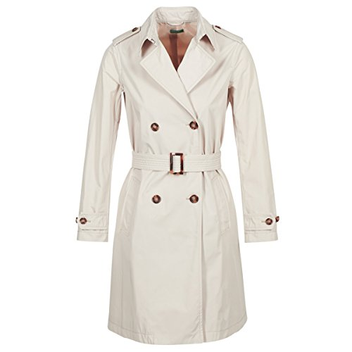 Benetton Bacepamd Mäntel Damen Beige - DE 32 (IT 38) - Trenchcoats Outerwear
