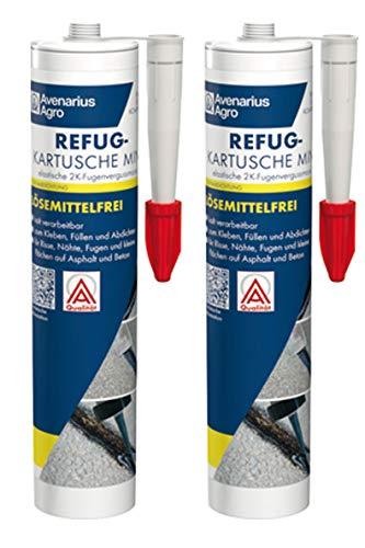 Avenarius Agro Refug Fugen-Dichtmasse Asphalt - Beton reaktiv (2 Stück)