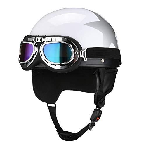 Fatmingo German Style Helmet With Goggles