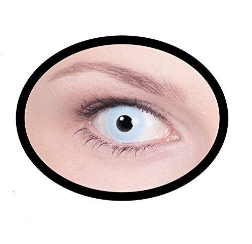 Maskworld SMI416280(2) Kontaktlinsen/Tageslinsen, Unisex– Erwachsene, blau