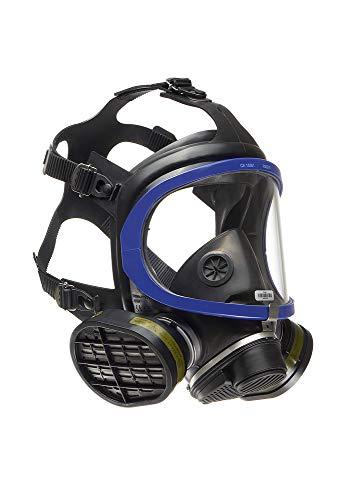 Dräger X-plore 5500 Full-Face Respirator Mask NIOSH Certified + 2x Gas Cartridge OV/AG/HF/FM/CD/AM/MA/HS | Eye and Respiratory Protection, Anti-Fog, 180° View