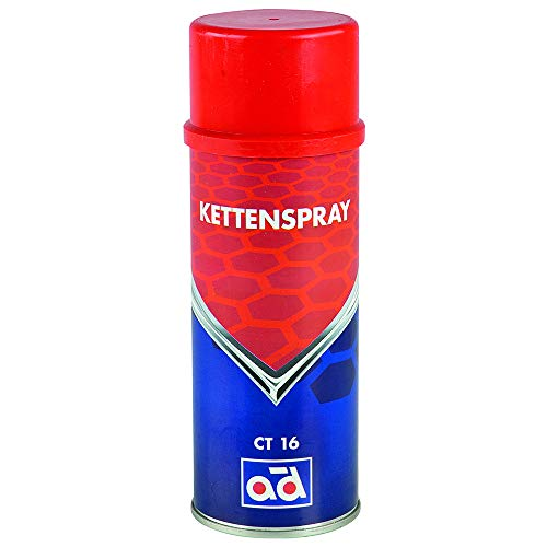 AD Química Cadena Spray ct16400ml spray Spezi alschmier plástico para cadenas articulaciones bisagras kettenöl aceite Oil 406067410
