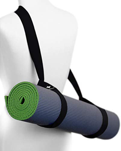 Pelikus Yoga Mat Carry Strap Sling - Adjustable, Durable, Cotton