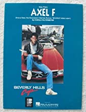 Axel F Theme from Beverly Hills Cop - Easy Piano Sheet Music