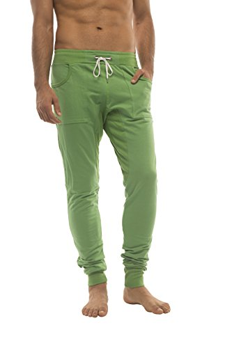 4-rth Men's Long Cuffed Jogger Yoga Pant