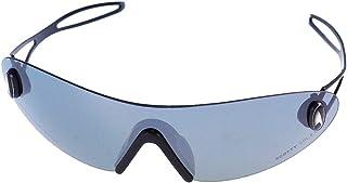 Chic-Net - 400 UV sin marco superior metálica delgada Deporte tintado estrecha gafas de sol de los hombres