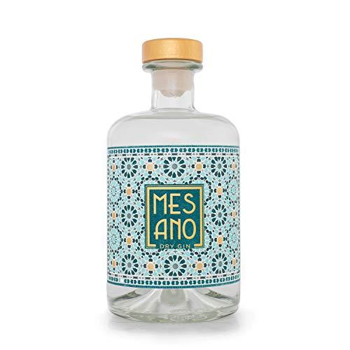 MESANO Dry Gin (1x 0,5l) - Blutorange, Zitronengras, Minze & Nelke
