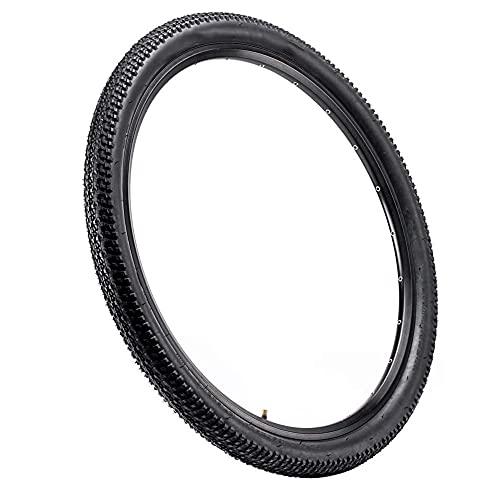 Tuimiyisou Neumáticos Negros Activos con Cable de Neumáticos para Bicicleta de Bolas de Alambre de neumáticos de Repuesto 26x2.1inch MTB