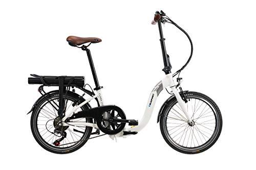 Blaupunkt Clara 390 | Falt-E-Bike, Tiefeinstieg, Klapprad, StVZO, 20 Zoll, leicht