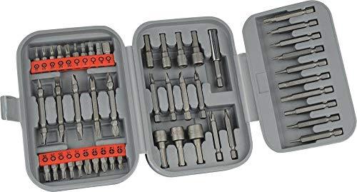 Mannesmann - M29825 - Juego de llaves de vaso y puntas, 49 piezas