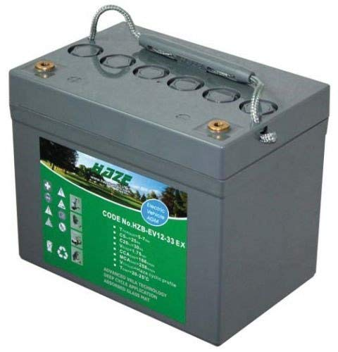 12V 41Ah High Output Haze Sealed Lead Acid (AGM) Mobility Scooter Battery