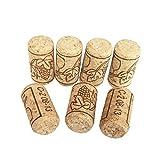 BESTONZON 100 unids de Corchos de Vino Tapones de Botella de Corcho Natural/Corchos de...