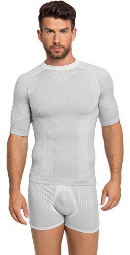 Ladeheid Herren T-Shirt 05 22 (Grau, M/L)