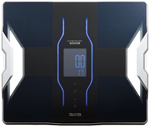 Tanita Weight ? Body Composition Meter Inner Scan Dual Black RD-906-BK Made in Japan for Smartphone