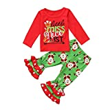 Eastery - Juego de ropa infantil de dibujos animados de Super Mario para bebés y niños y niñas (1-7 años) Verde verde 18-24 Meses