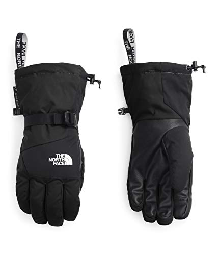 The North Face Montana - Guantes de forro polar para hombre, talla L, color negro