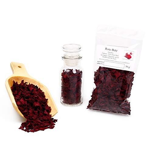 Rote Bete getrocknet in Würfel und Streifen   Als Knabberspaß für Nager, Suppeneinlage, Marinaden Gewürz uvm. 30g