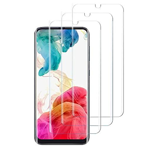 Verre Trempé pour Samsung A50-[3 Pièces][ Dureté 9H] [sans Bulles] [Ultra Claire][Anti-Rayures][Anti-Huile]Protection Écran pour Samsung Galaxy A50