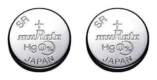 [ムラタ]村田製作所 酸化銀ボタン電池 (SR621SW(364) 2個パック)