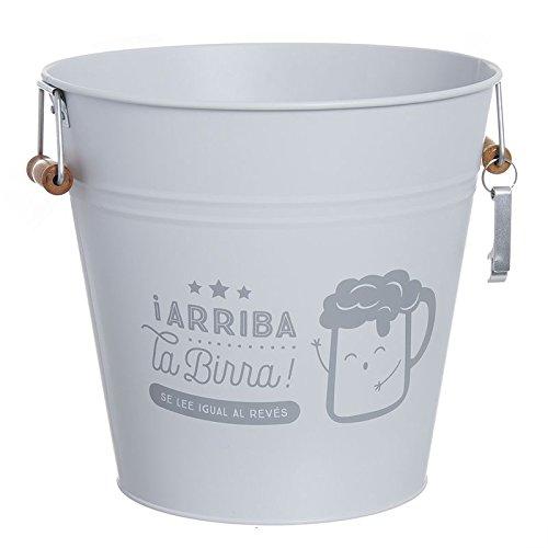 D,casa - Cubitera 12 litro con abridor Arriba la Birra