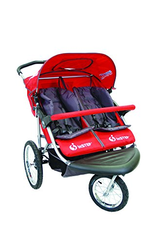 Instep 01183CRED Safari TT Double Jogger - Red