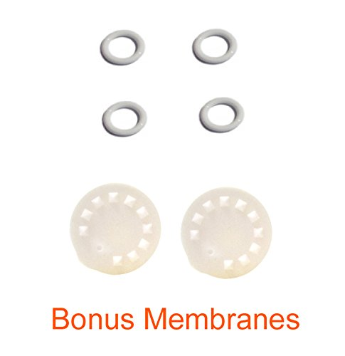 Replacement Parts for Medela Harmony Manual Pump; 4 O-Rings, 2 Membranes by Maymom