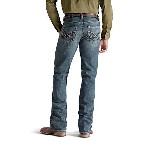 Ariat Men's M5 Slim Bootcut Jean, Deadrun, 38x30