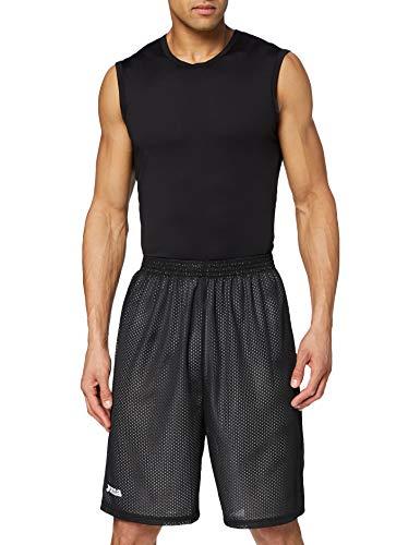 Joma Rookie Pantalones Cortos, Hombres, Negro-Blanco-100, XL