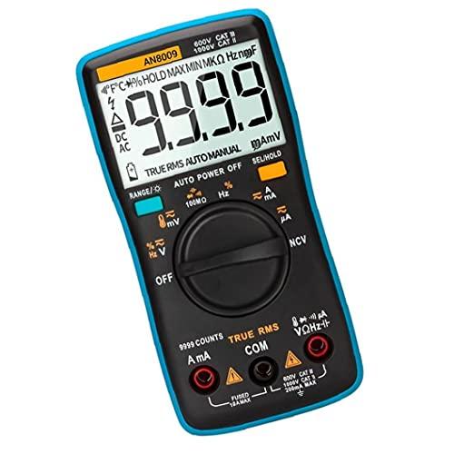 Hainice ANENG AN8009 Multímetro Digital Función de Voltaje automotriz de Voltaje electrónico Herramienta de medición Herramienta Industrial