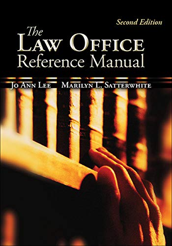 The Law Office Reference Manual (McGraw-Hill Business...