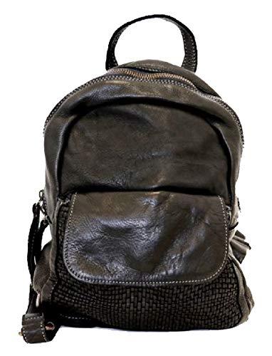 BZNA Bag Sam braun Backpacker Designer Rucksack Damenhandtasche Schultertasche Leder Nappa Italy Neu