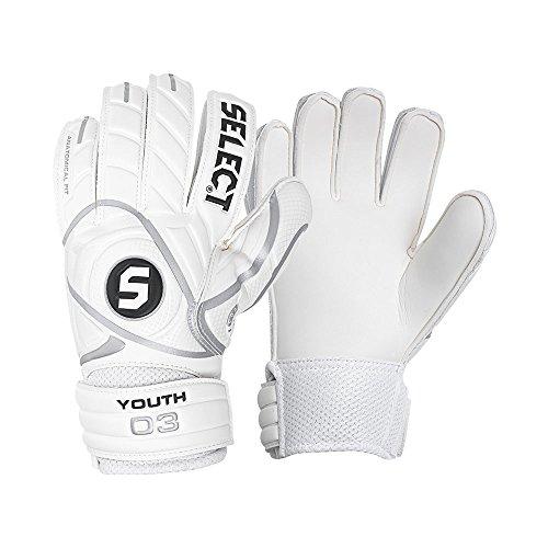 Select 03Youth Torwart-Handschuh für Kinder, Weiß 39 weiß