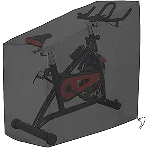 LKJHG Cubierta para Bicicleta Estática, Protector De Scooter Anti-UV Impermeable A Prueba De Viento, Cubierta Protectora De Ciclismo Vertical para Nordictrack, Schwinn, Peloton, Keizer, Rogue, Sole