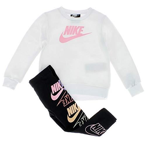 Nike Futura Stack Tuta Bianca Da Bambina 16G818-001 - blanco - 24 meses
