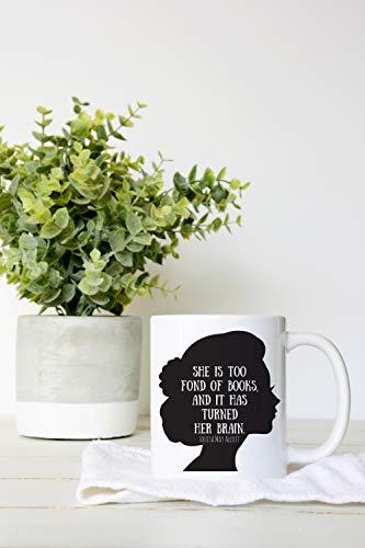 Alicert5II Louisa May Alcott koffiemok boek-citaat-beker