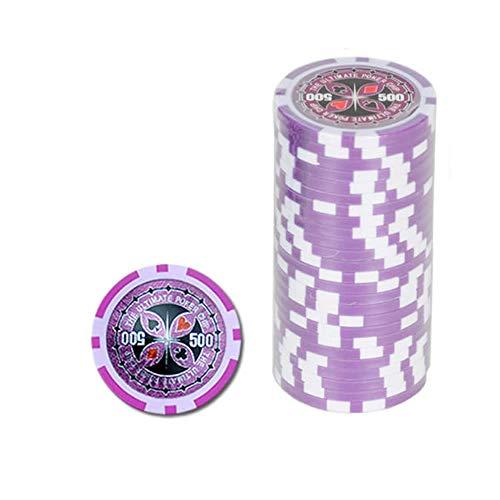 Ultimate Pokerchips 500 er Wert Poker Chip Roulette Casino Qualität