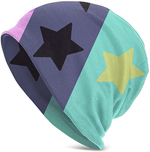 FuQiBasics Steven Universe Unisex Adult Knit Hats, Printing Skull Cap, Soft Slouchy Beanie Hat for Men Women