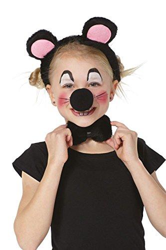 Juego de 3 ratones infantiles.