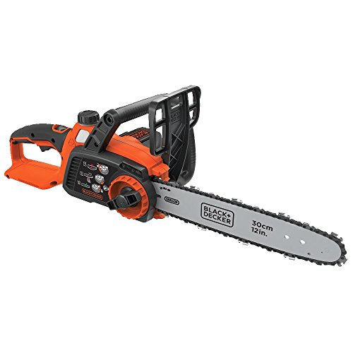 BLACK+DECKER 40V MAX Cordless Chainsaw, 12-Inch, Tool Only (LCS1240B)