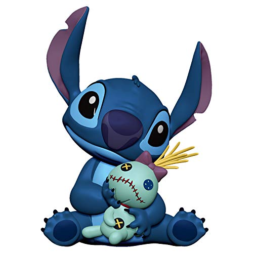 Hallmark Keepsake Christmas Ornament 2019 Year Dated Disney Lilo & Stitch, Stitch and Scrump