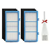2 HEPA + 6 Carbon Booster Filters for Holmes AER1 HEPA Type Total Air Filter Replacement Filters for HAPF30AT and HAP242-NUC