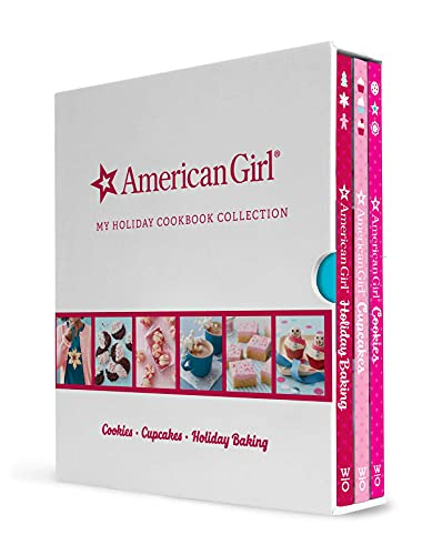 American Girl My Holiday Cookbook Collection (Holiday Baking, Cookies, Cupcakes)